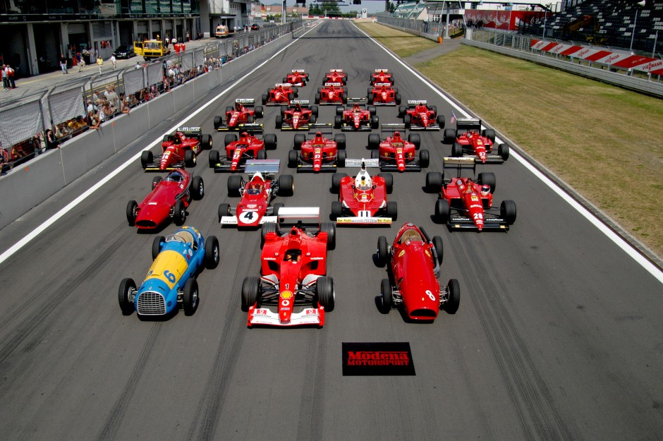 Another year of F1!  68 years in the running