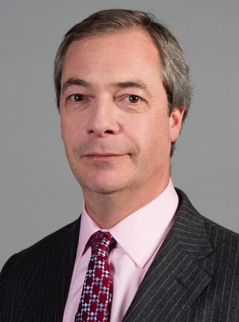 UKIP: a one man party? (Photo credit: Wikipedia)